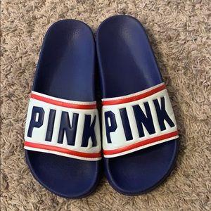 VS PINK slide sandals